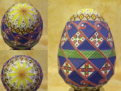 Как сделать пасхальное яйцо из бумаги своими руками