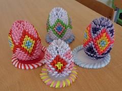 Модульное оригами: Пасхальное яйцо
